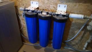 Как починить течь в водяном фильтре // Ремонт своими руками // Нескучная жизнь в деревне