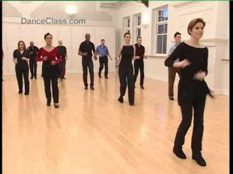 Salsa Basic Forward Step To Music - Salsa Class For Beginners 3/22