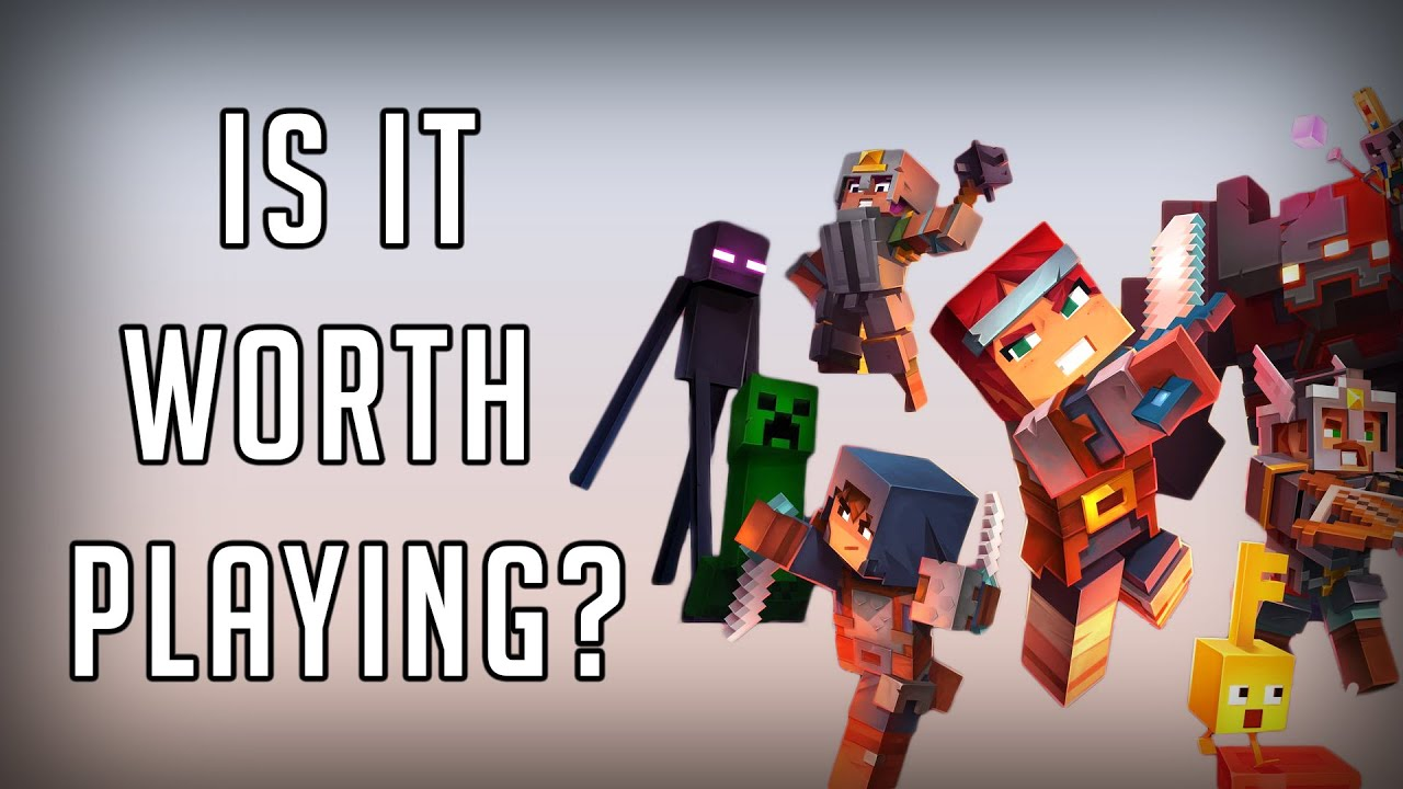 Minecraft Dungeons - IS IT WORTH PLAYING?