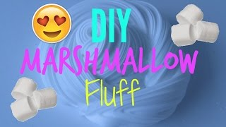 DIY Marshmallow Fluff Slime!  Gianna MacLaine