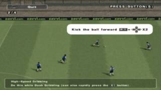 PES 2013 PS2 Dribbling Tutorial