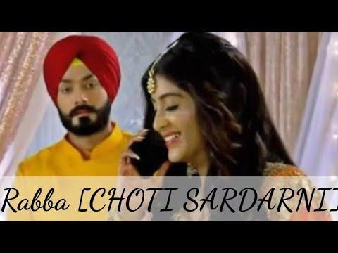 Rabba Song  Choti Sardarni  Colors Tv  New Song