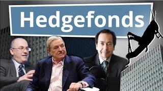 Was sind Hedgefonds? Einfach erklärt!   Finanzlexikon