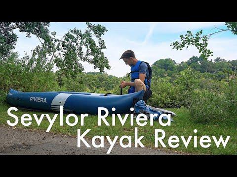 Sevylor Riviera Inflatable Kayak review | The outdoor backpack/kayak | adventure kayak
