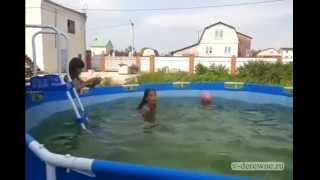 Каркасный бассейн для дачи(Каркасный бассейн для дачи., 2014-05-30T13:58:18.000Z)