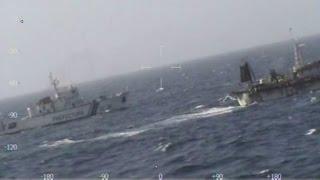Argentina bắn chìm tàu cá Trung Quốc - video của Hải quân Argentina