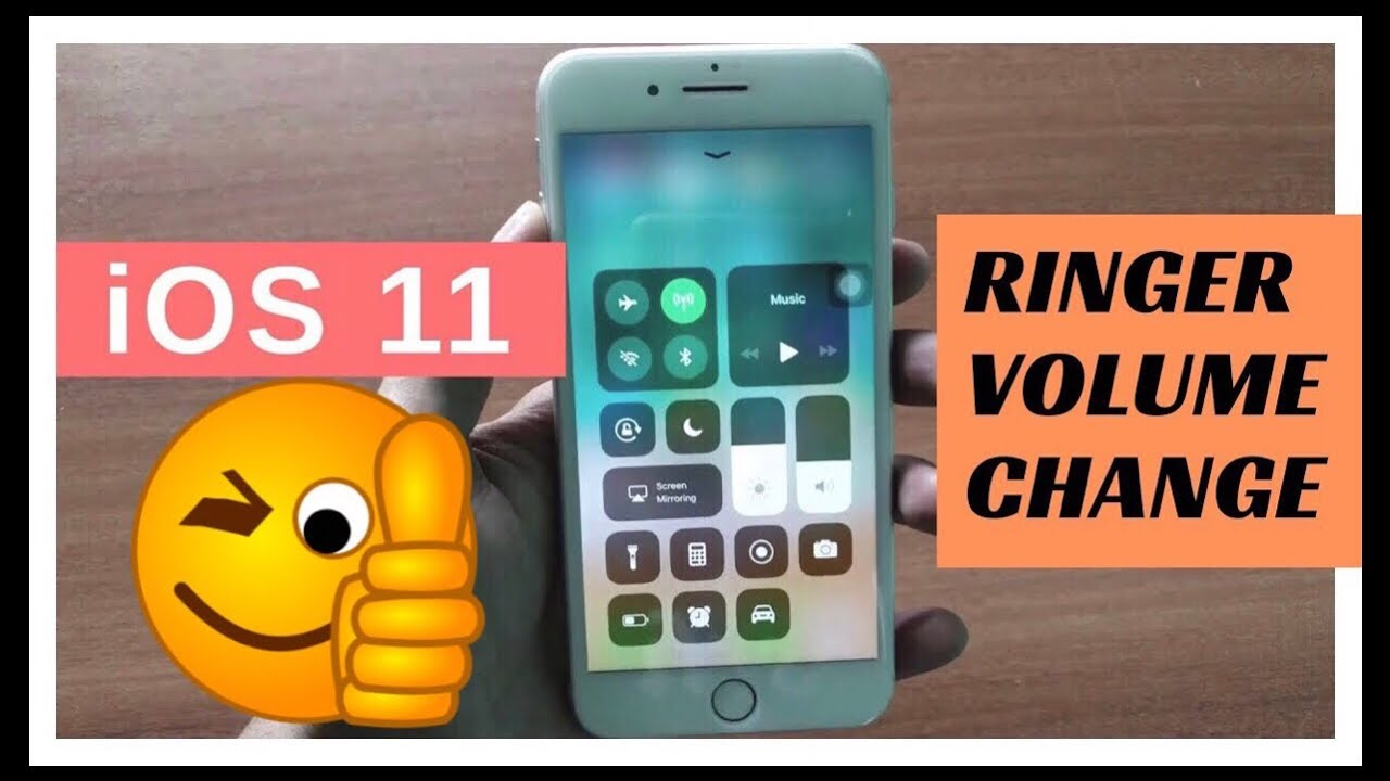 how to lower ringer volume iphone 7