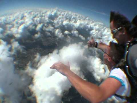Stephen Carberry  Sky dive