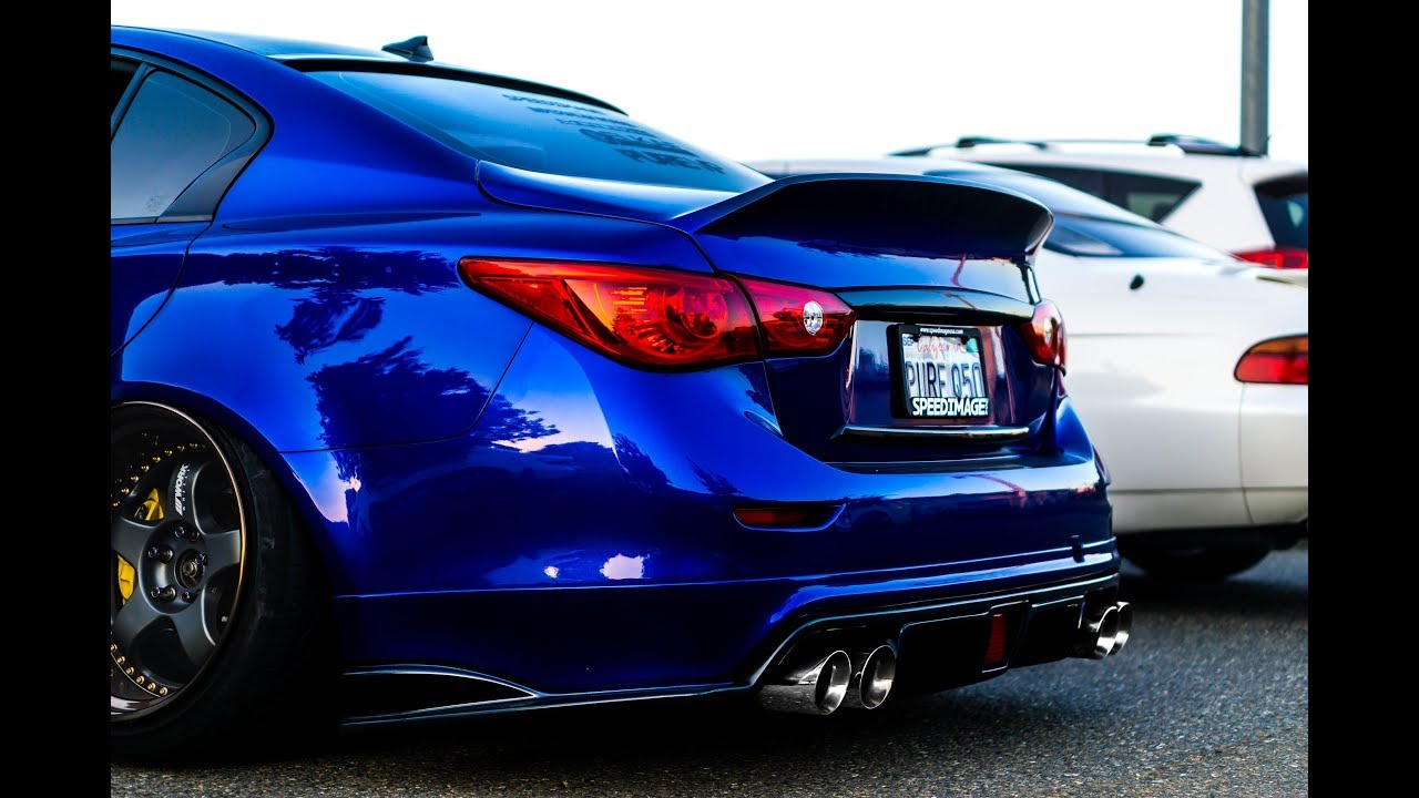 Motordyne Exhaust with Resonated Test Pipes (Infiniti Q50)