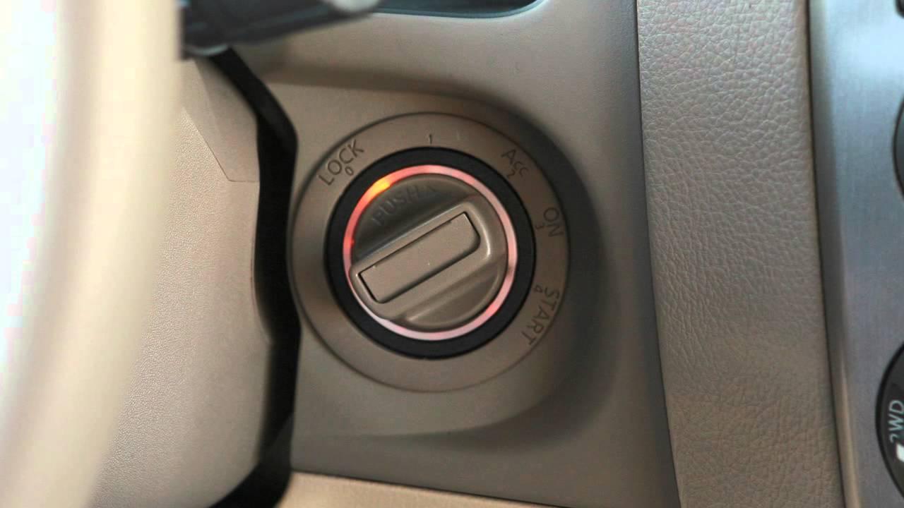2012 NISSAN Armada - Tow Mode Switch