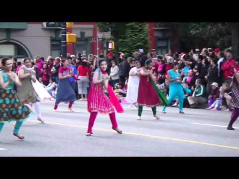 Canada Day Parade (2012) - Vancouver, BC - Indian Dance Performance