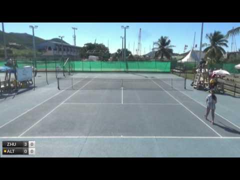 Zhu Amy v Altick Helen Abigail - 2017 ITF Saint Martin
