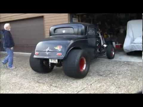 1932 Ford Coupe Blown Big Block Chevrolet - YouTube