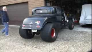 1932 Ford Coupe Blown Big Block Chevrolet