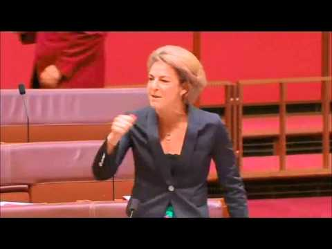Michaelia Cash is possessed by the devil
