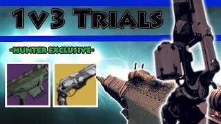 1v3 Trials w/ Ace of Spades & Stillpiercer (Hunter Exclusives) | Destiny