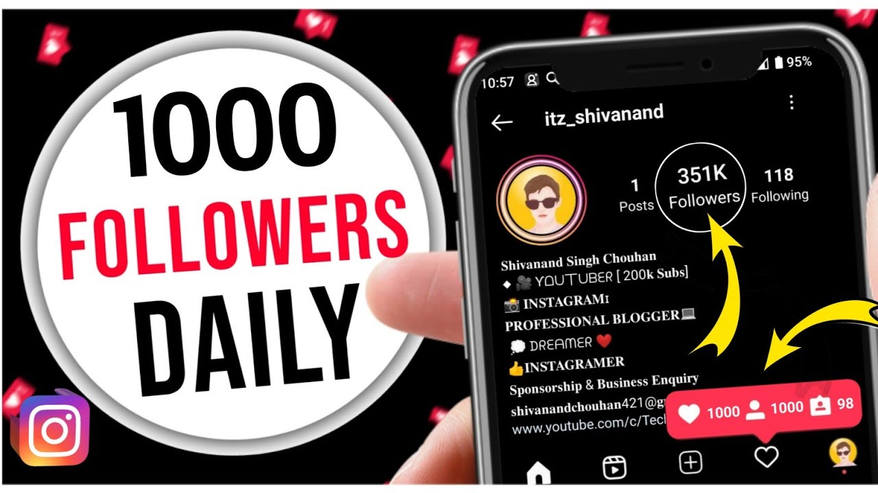 How to Get Free Instagram followers | How to Get Followers On instagram | Instagram Followers 2021