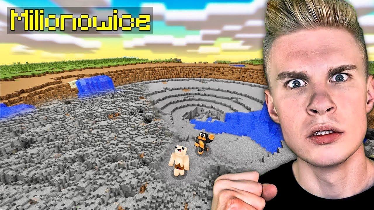 CO ZROBIMY DALEJ z MILIONOWICAMI w Minecraft? *przeprowadzka*