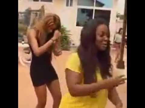 LOL...Yvonne Nelson and Jackie Appiah in Rap and Dance Battle