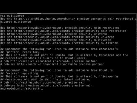 UBUNTU package management on 12.04 LTS Server