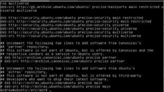 UBUNTU package management on 12.04 LTS Server