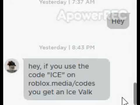 Roblox Gold Codes Ice Roblox Bots Scammers Hacker Made New Website For Ice Code Youtube