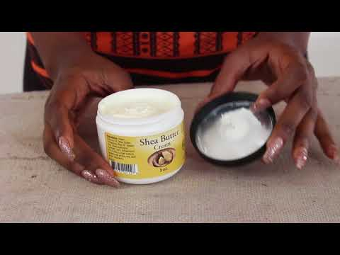 Shea butter facial and body cream from Africa Imports