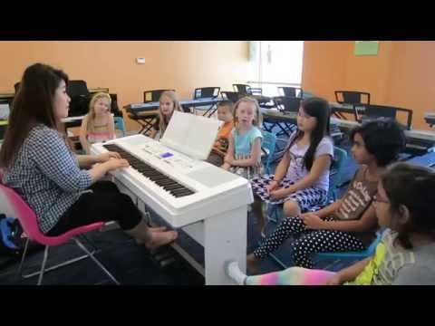 How to Start Piano & Singing Lessons Solfege  7 Notes - Frisco Plano TX