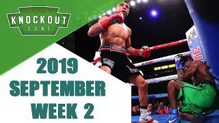 Boxing Knockouts | September 2019 Week 2