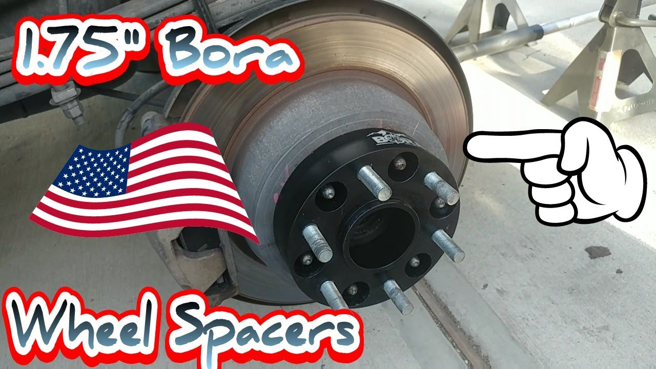 "Installing 1.75"" Bora Wheel Spacers on my 2014 Silverado ..."