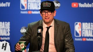 Nick Nurse Postgame Interview - Game 6 | Raptors vs Warriors | 2019 NBA Finals