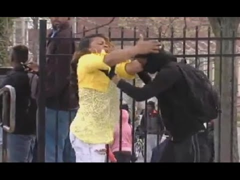 baltimore mom beating her son ll cool j style youtube
