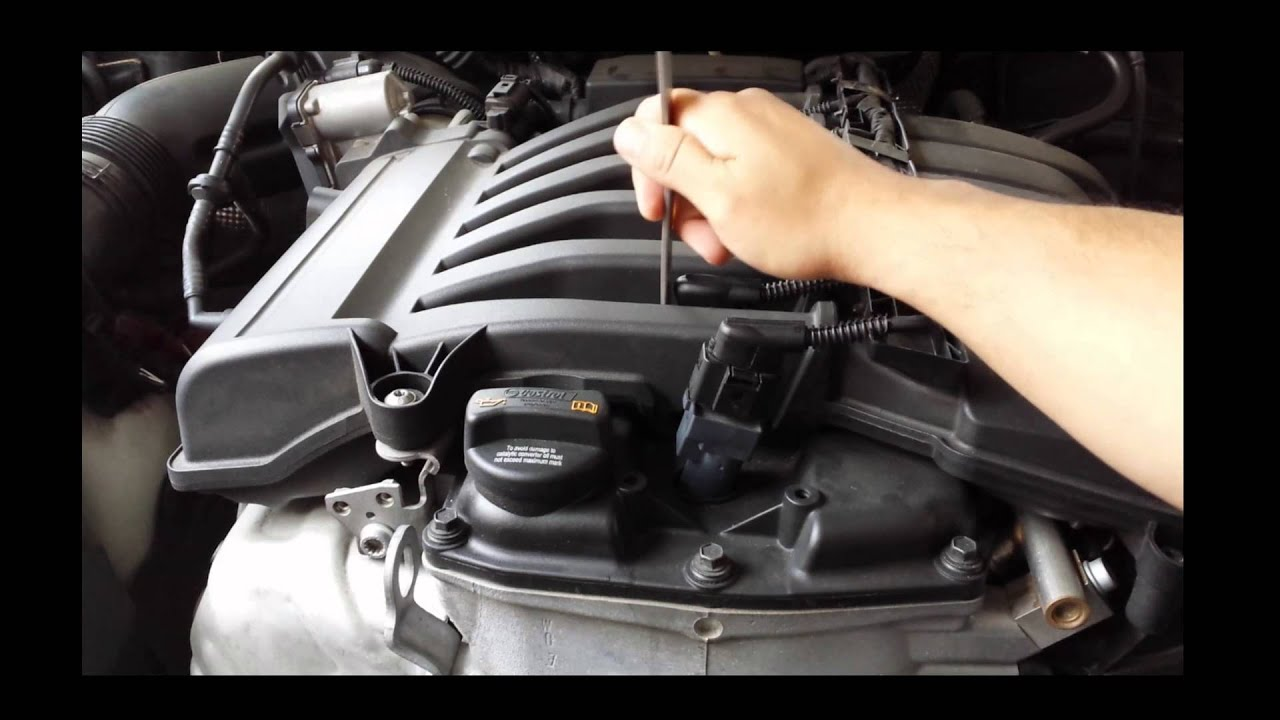 2008 vw touareg spark plug coil removal