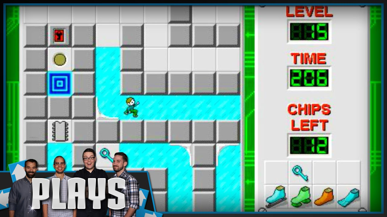 The Game of Your Childhood! Chip's Challenge - Kinda Funny Plays