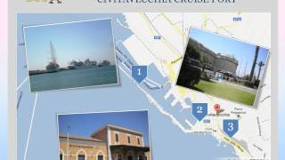 The Civitavecchia (ROME) cruise port