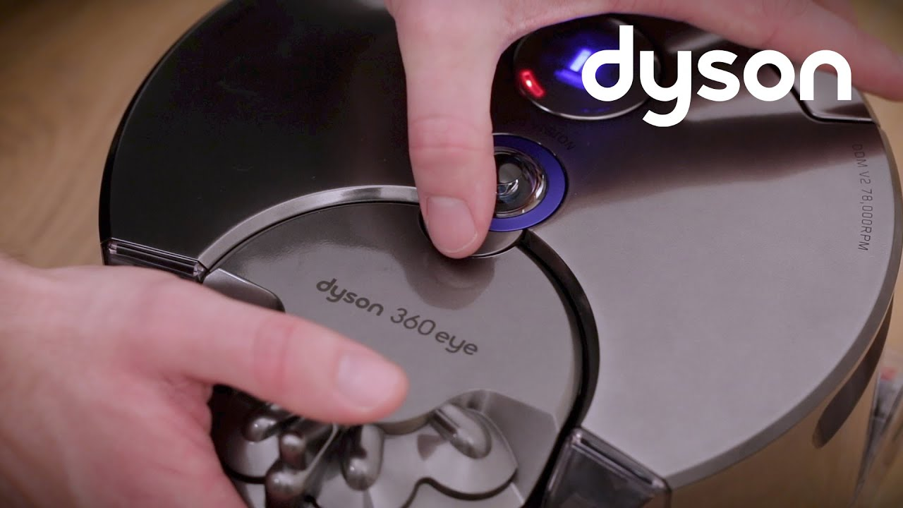 dyson robot 360 eye 1 spia di guasto youtube. Black Bedroom Furniture Sets. Home Design Ideas