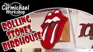 Rolling Stones Birdhouse (2013 Summers Woodworking Birdhouse Contest Entry)