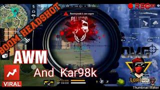 ¡¡¡The sniper beast !!!¡¡BOOM HEADSHOT!! (LOREM AWN AND KAR98K)