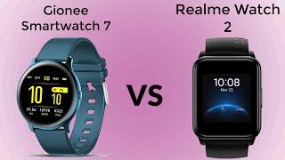 Gionee Smartwatch 7 VS Realme Watch 2