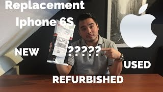 Apple Iphone 6s Replacement. Is it NEW,REFURBISHED or USED?