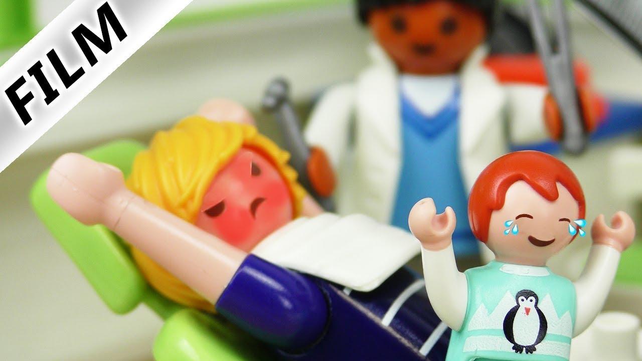 Playmobil Film Deutsch Emma In Papas Rucksack Zahnarzt Statt