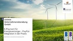 E Payment für Energieversorger  am Beispiel von PayPal