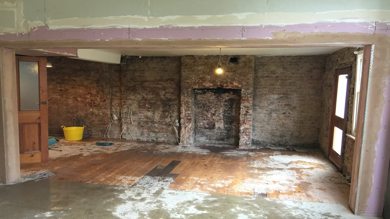 How To Remove internal load bearing wall with picture ...