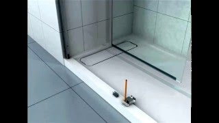 OVE Carmel 60 shower installation (ITM# 999362)