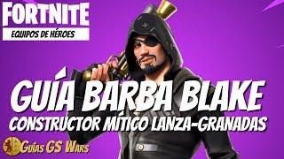 FORTNITE Guía Mítico Constructor BARBA BLAKE PARCHENEGRO | Cuadrilla Pirata al Completo