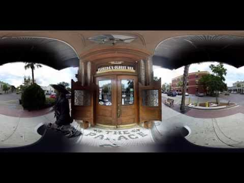 "360 Virtual Reality Tour - OLDEST BAR IN FLORIDA - ""THE PALACE"""