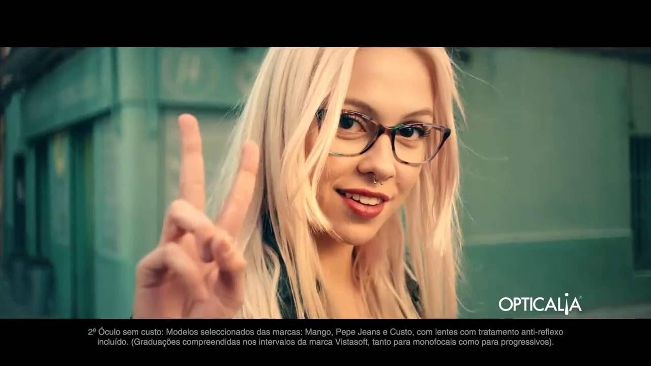 f250b3332a OPTICALIA: 2x1 em óculos graduados de marca, com lentes progressivas e sol  de marca na Opticalia - YouTube