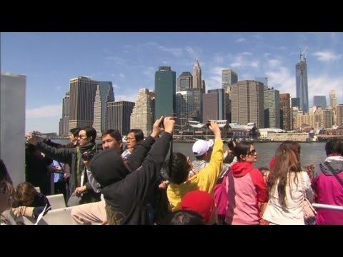 Chinese tourism soars in U.S.