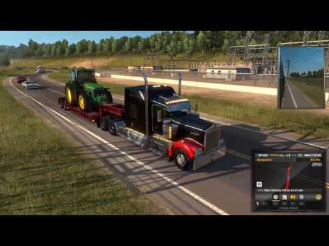 American Truck Simulator Carson City, NV to Eureka, CA