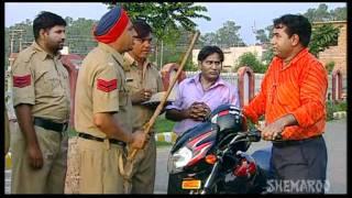 Funny Traffic Challan - Punjabi Comedy Scenes - Ghasita Hawaldar Santa Banta Frar